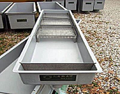 Esempi vasche attrezzature stadi giovanili lamar udine for Vasche per allevamento ittico